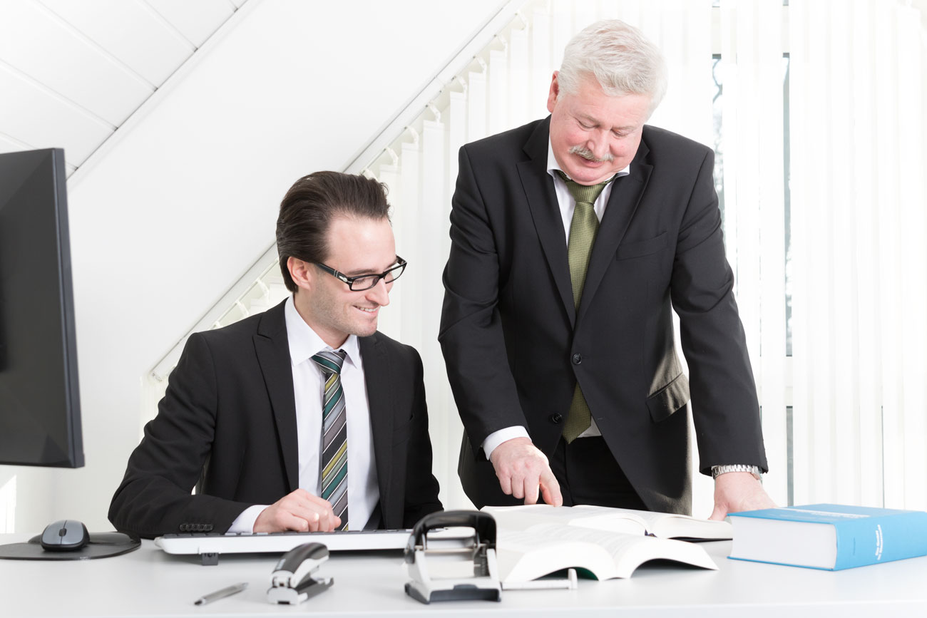 Team: Vater und Sohn Vieth, Steuerberater in Paderborn und Umgebung